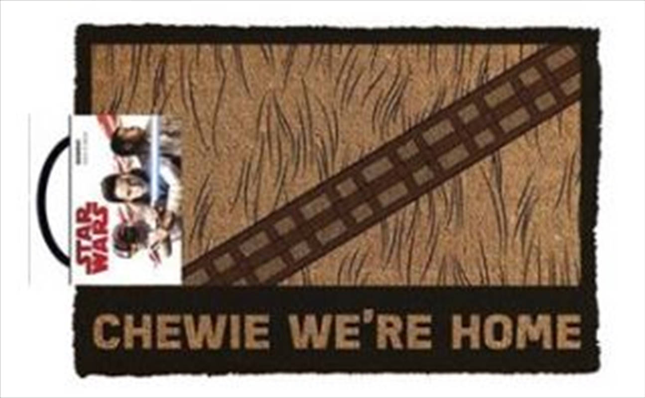 Star Wars Classic - Chewie We're Home Doormat | Merchandise