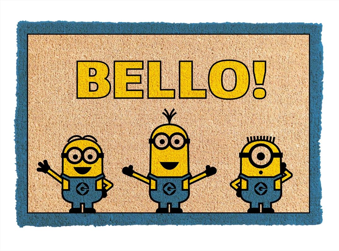 Minions Bello Doormat   Merchandise