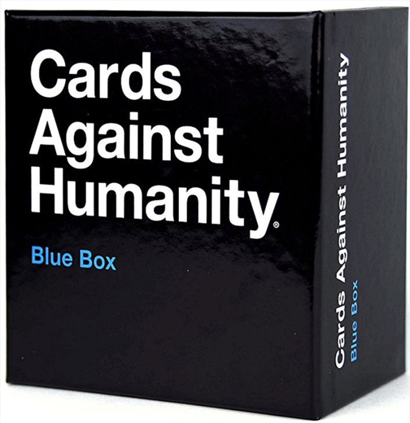 Cards Against Humanity Blue Box   Merchandise