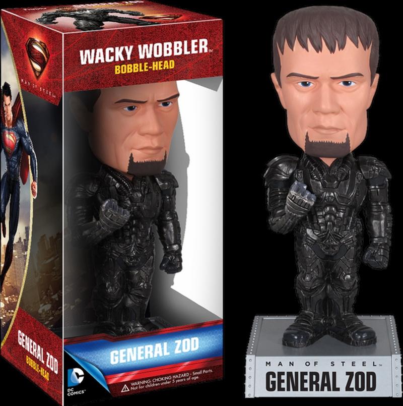 Superman: Man of Steel - Gen. Zod Wacky Wobbler | Merchandise