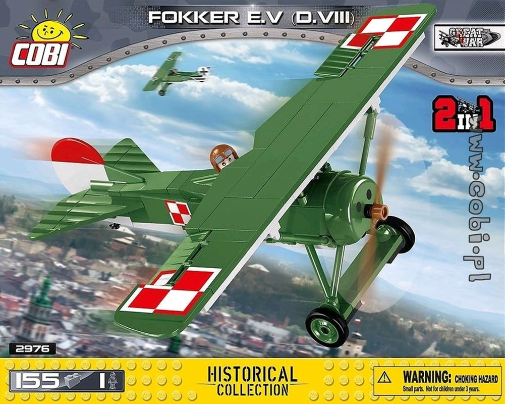 Great War - 150 Piece Fokker E.V D.VIII | Miscellaneous
