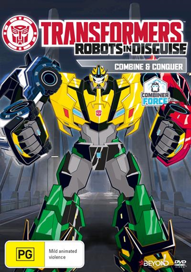 Transformers - Robots In Disguise - Combine And Conquer | DVD