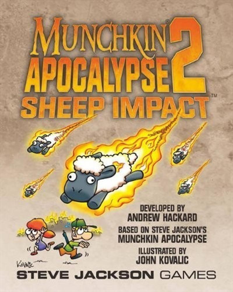Munchkin Apocalypse 2: Sheep Impact   Merchandise