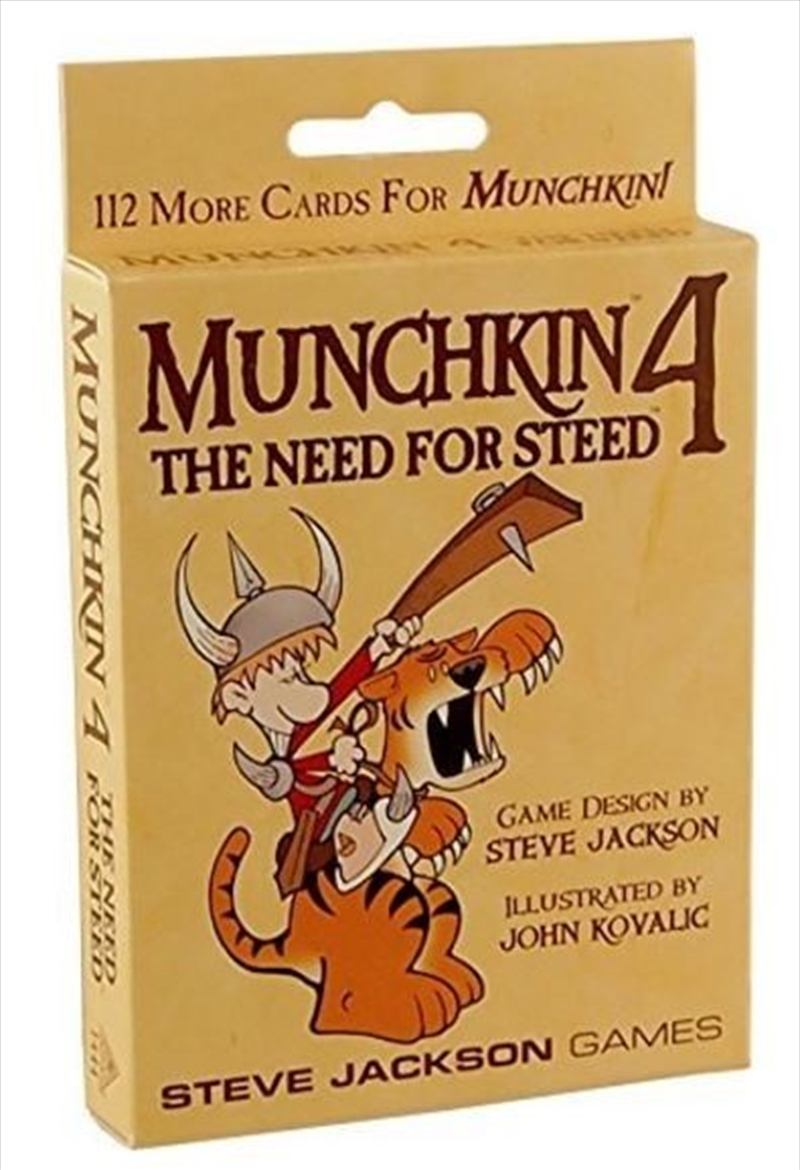 Munchkin 4 The Need For Steed | Merchandise