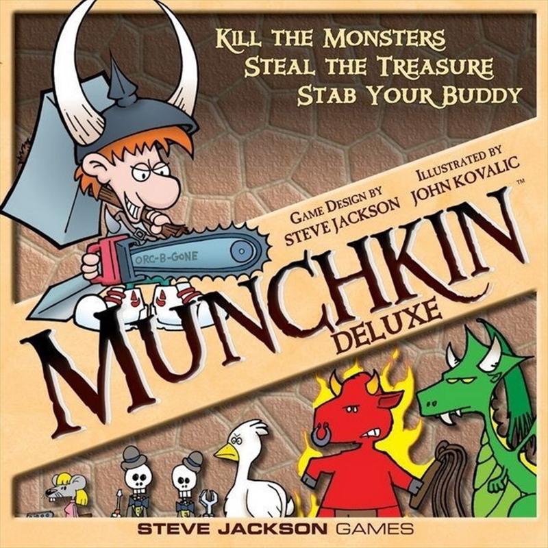 Munchkin Deluxe   Merchandise
