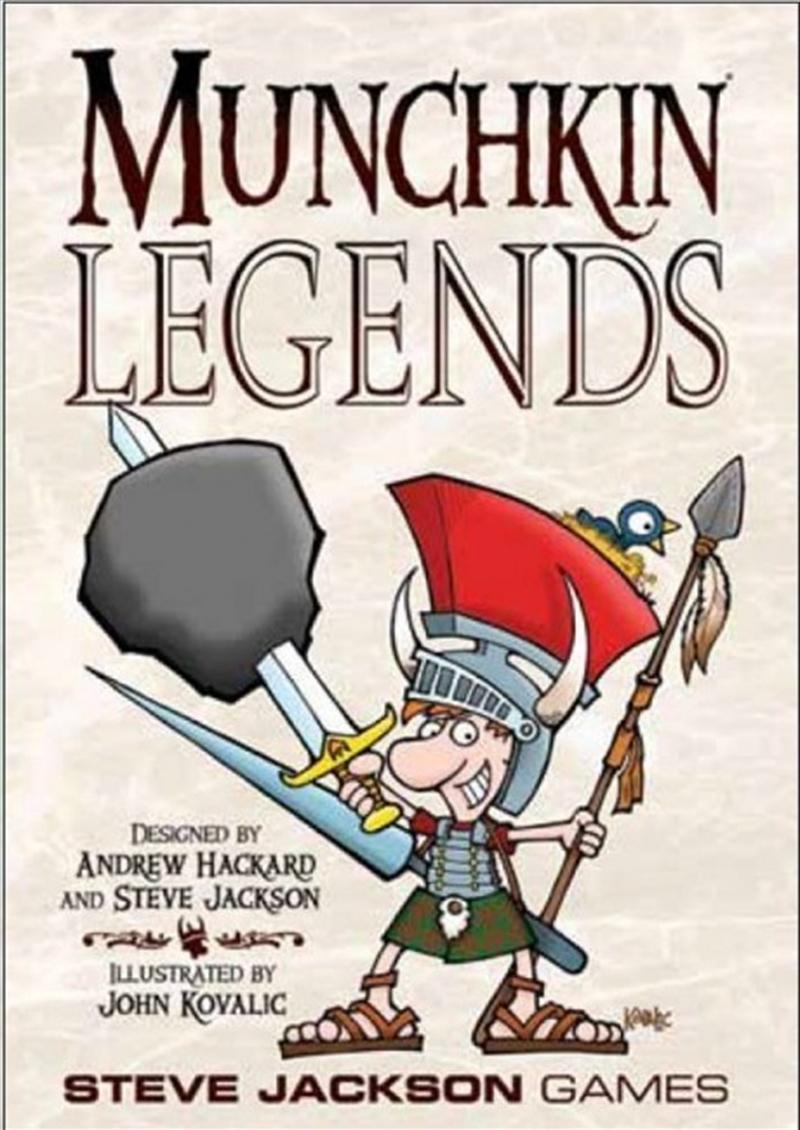 Munchkin Legends | Merchandise