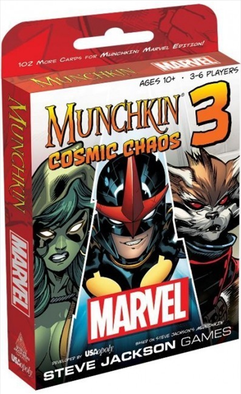 Munchkin Marvel Cosmic Chaos | Merchandise