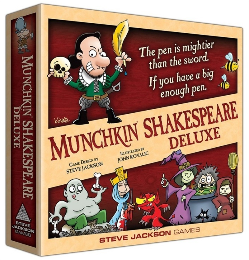 Munchkin Shakespeare Deluxe | Merchandise