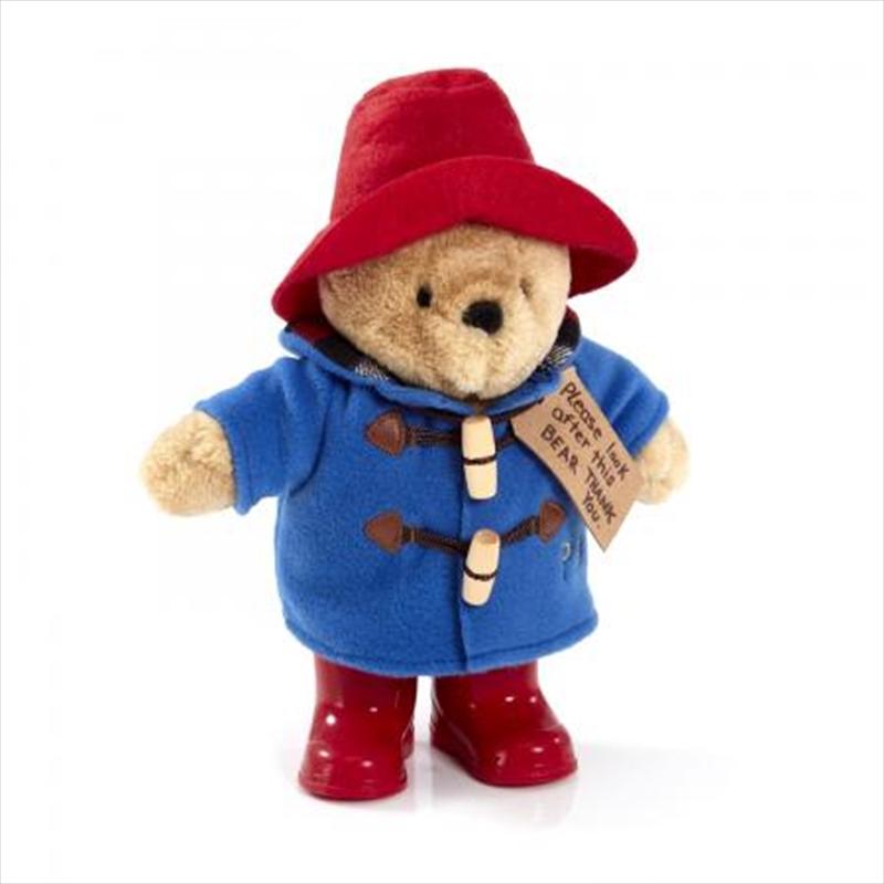 Paddington Bear - Paddington Boots Blue Coat | Toy