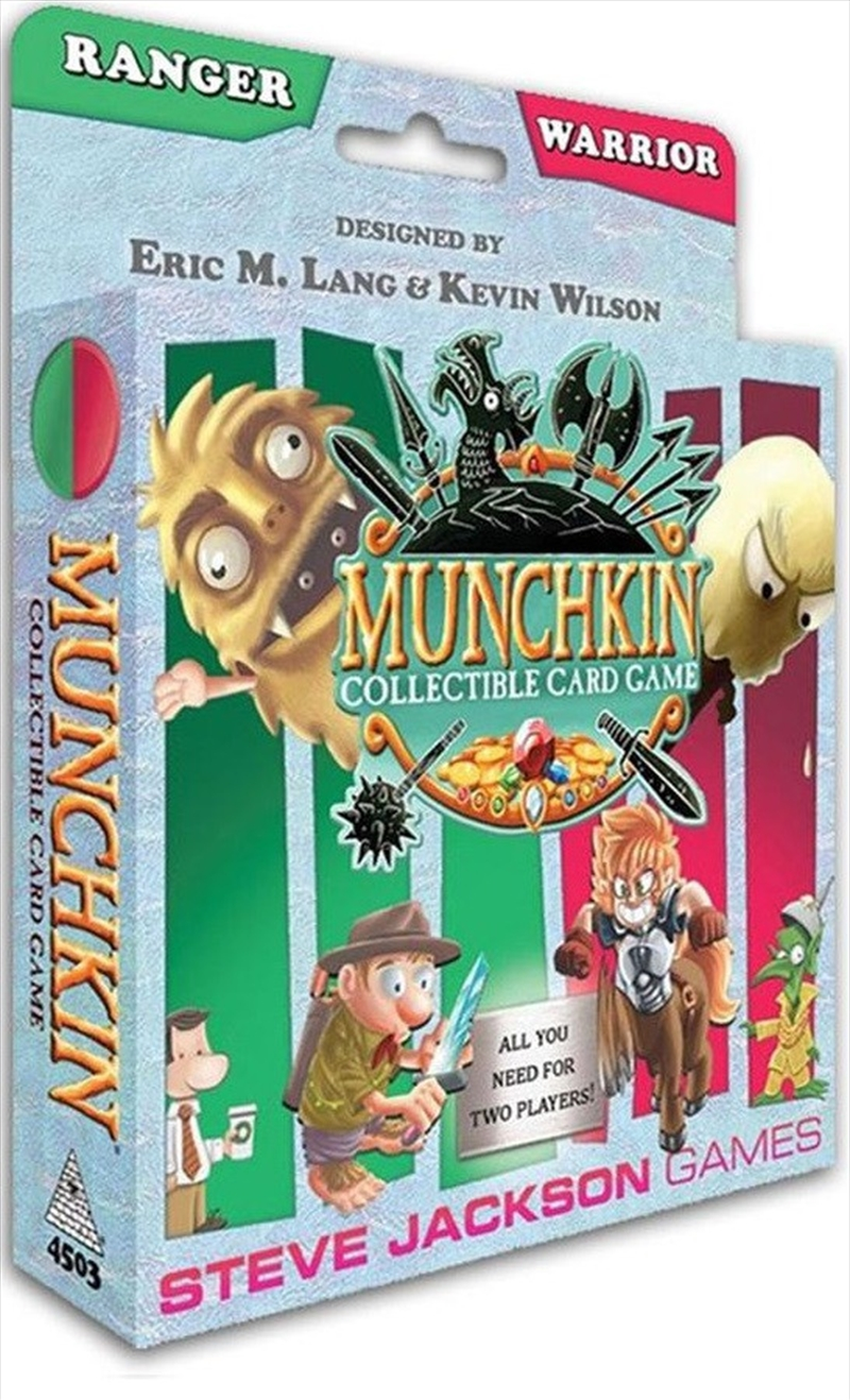 Munchkin Collectable Card Game - Ranger and Warrior Starter Set | Merchandise