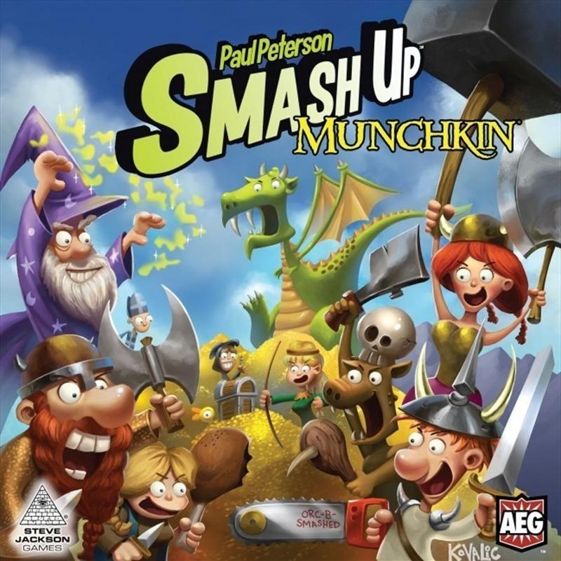 Smash Up Munchkin   Merchandise