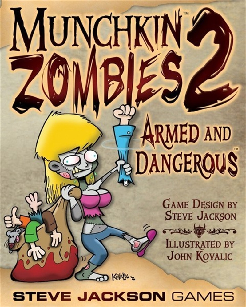 Munchkin Zombies Armed and Dangerous | Merchandise