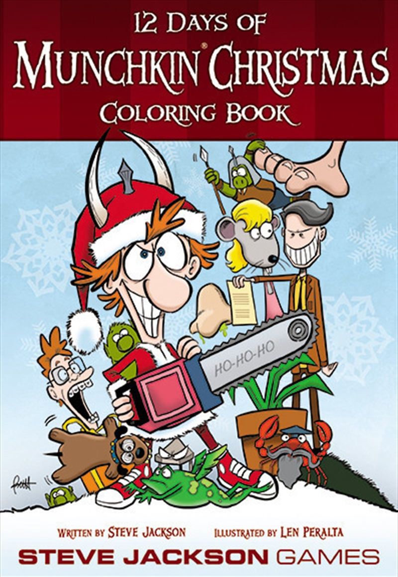12 Days of Munchkin Christmas Coloring Book | Miscellaneous