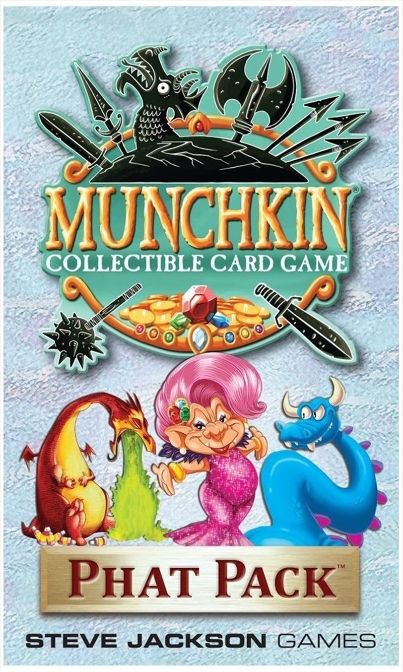 Munchkin Collectable Card Game - Phat Pack | Merchandise
