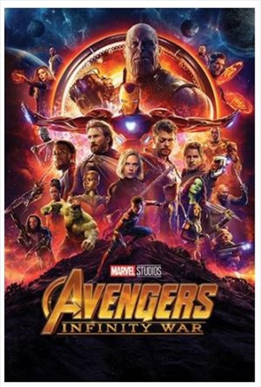 Avengers Infinity War - One Sheet Poster   Merchandise