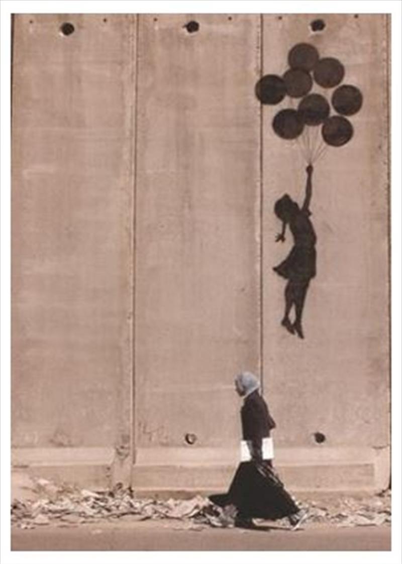 Banksy - Balloons In Gaza Poster | Merchandise