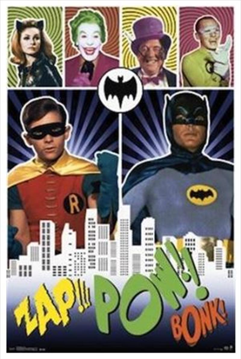 Batman Tv Show Pow Poster | Merchandise