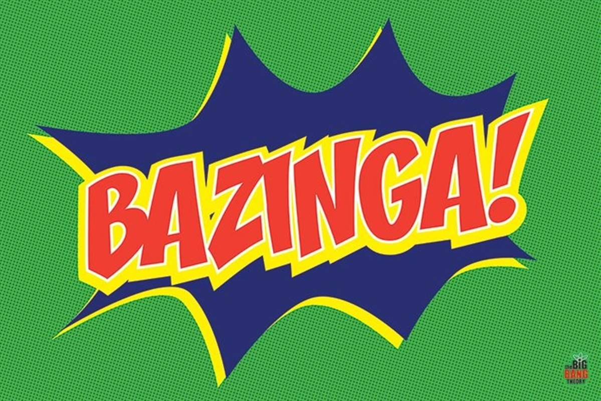 Big Bang Theory - Bazinga Poster | Merchandise