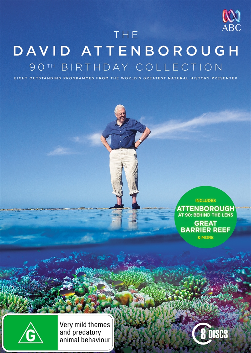 David Attenborough 90th Birthday Collection, The | DVD
