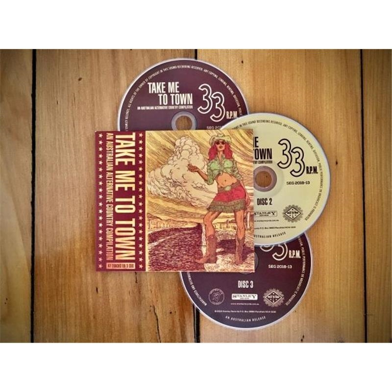 Take Me To Town - An Australian Alternative Country Compilation | CD