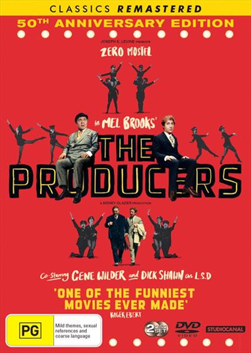 Producers - 50th Anniversary Edition - Remastered, The | DVD