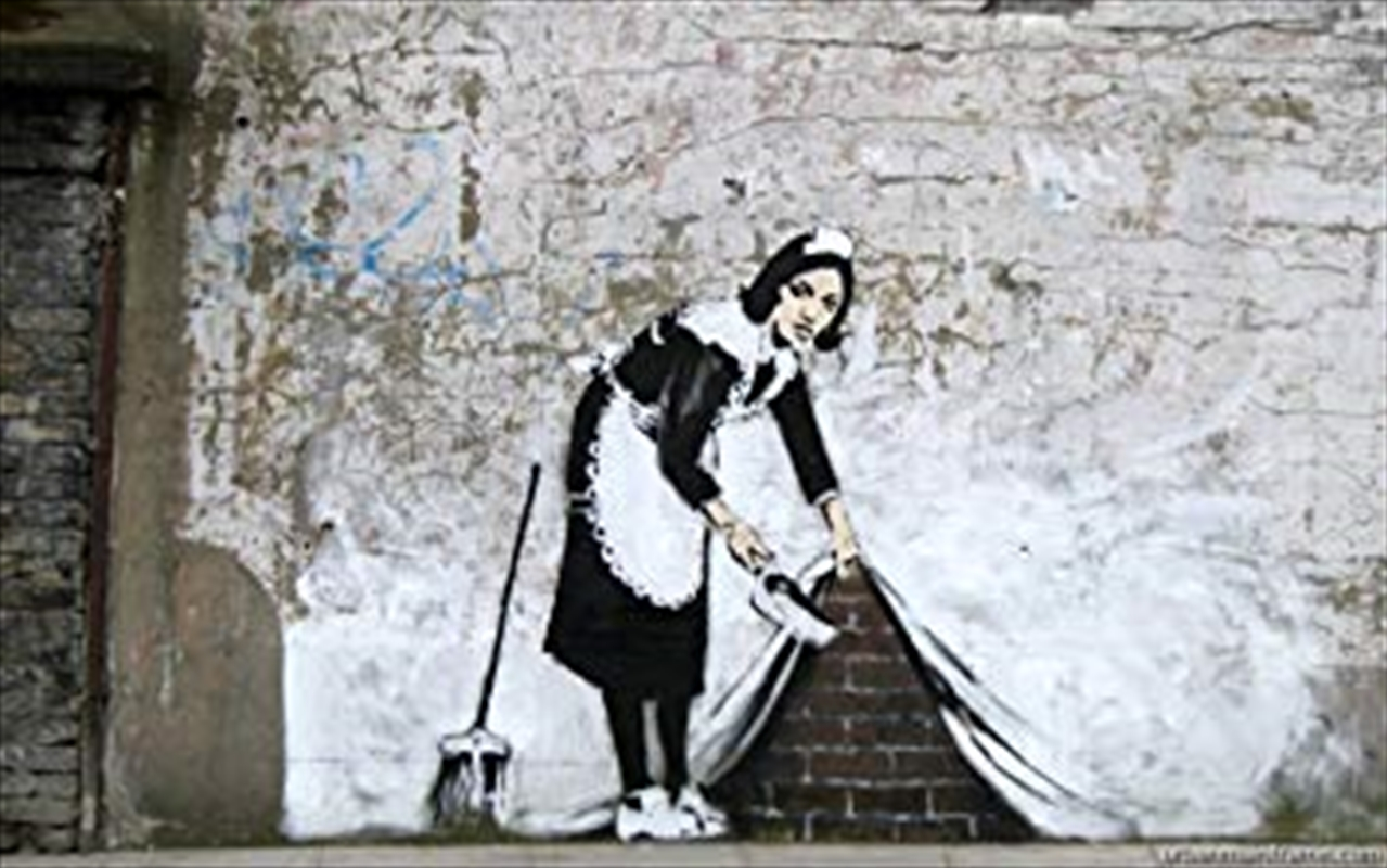 Banksy - Sweeping Under Wall | Merchandise