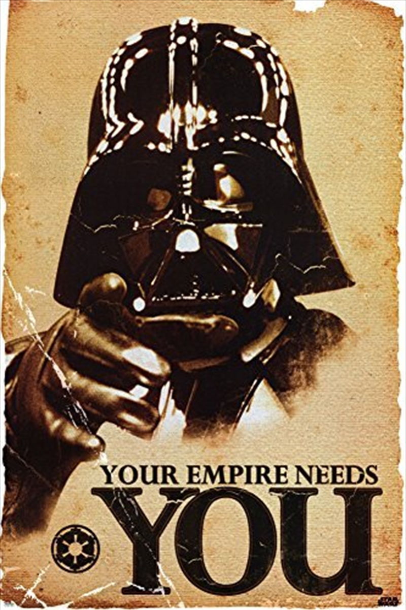 Star Wars - Darth Vader Your Empire Needs You | Merchandise