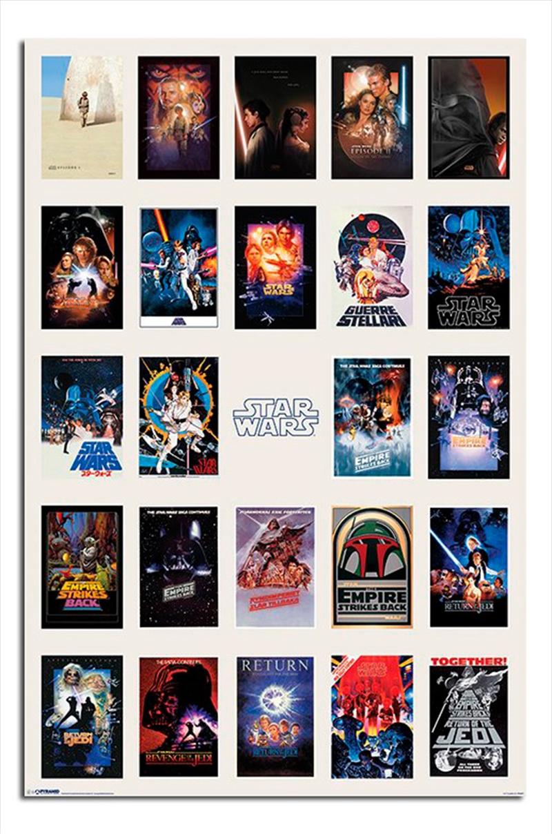 Star Wars - One Sheet Collage | Merchandise