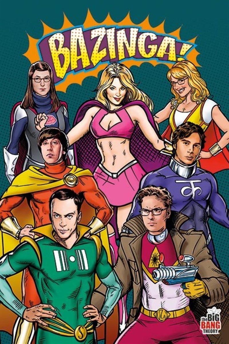 Big Bang Theory - Superheroes | Merchandise