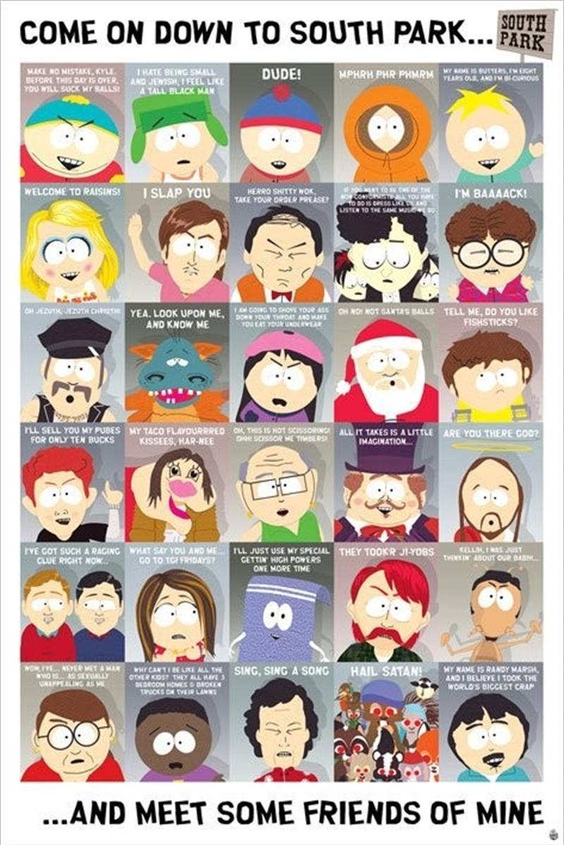 South Park - Quotes 2 | Merchandise