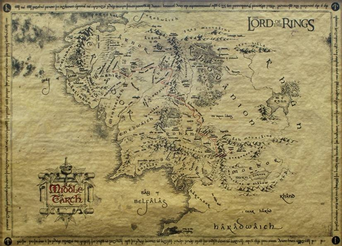 Lord Of The Rings - Special Parchment Poster | Merchandise