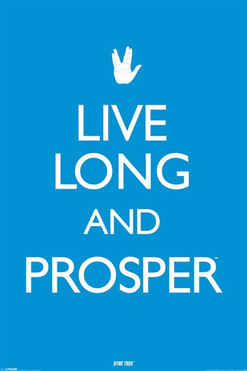 Star Trek - Live Long And Prosper | Merchandise