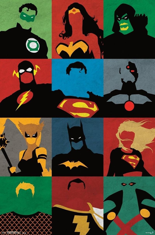 DC Comics - Justice League Minimalist | Merchandise