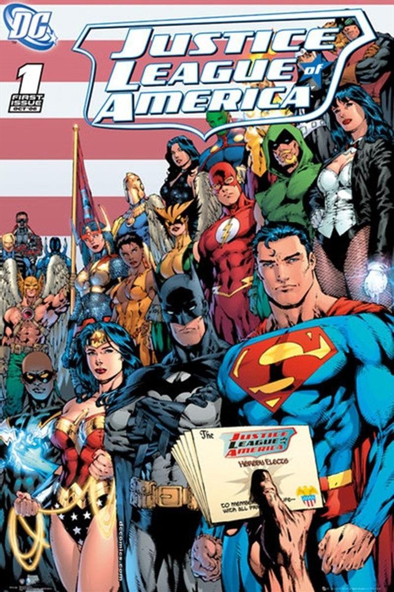 DC Comics - Justice League Cover | Merchandise