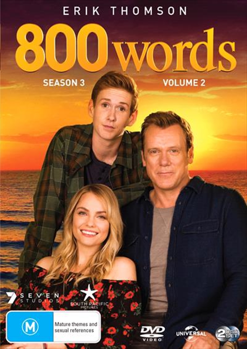 800 Words - Season 3 - Part 2 | DVD