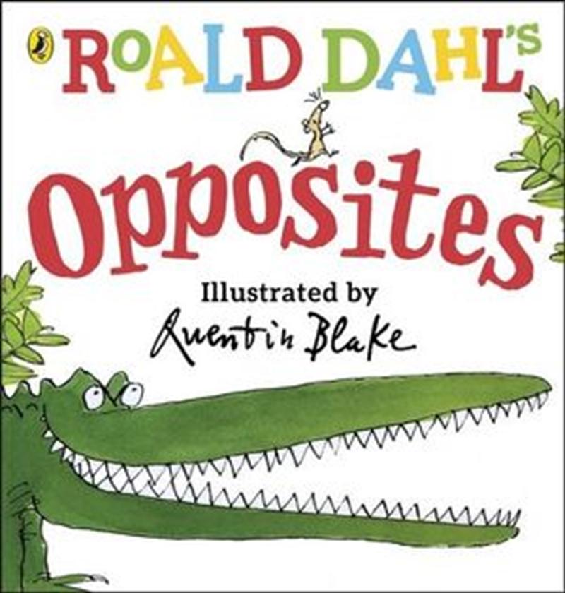 Roald Dahl's Opposites | Hardback Book