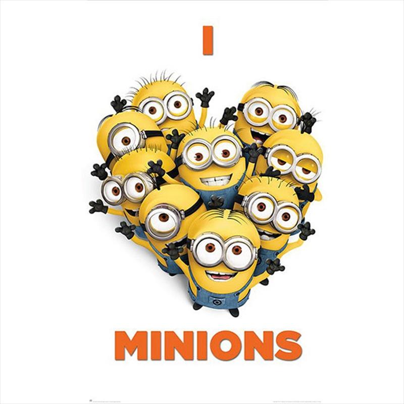 Despicable Me 2 - I Love Minions   Merchandise
