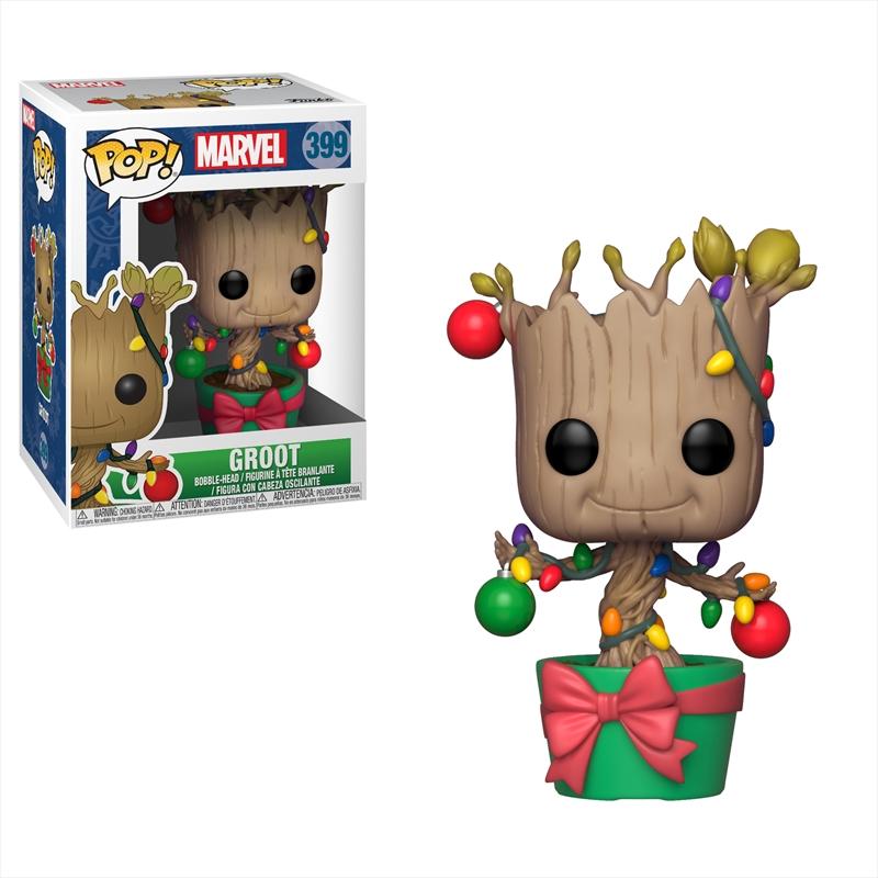 GotG - Groot w/ Lights & Ornaments Pop! | Pop Vinyl