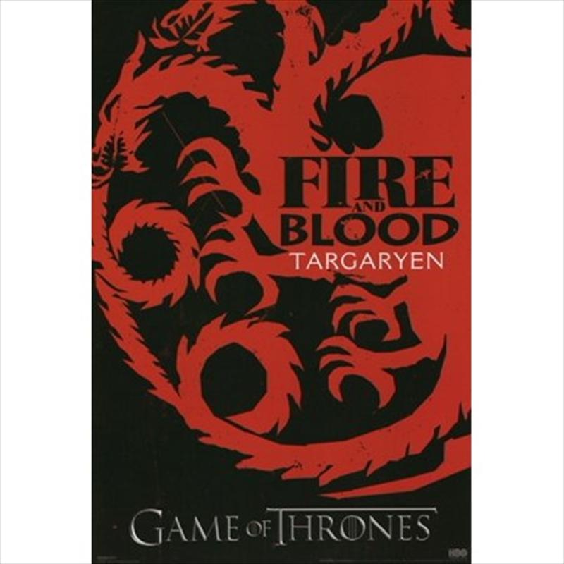 Game of Thrones - Targyaryen Sigils | Merchandise