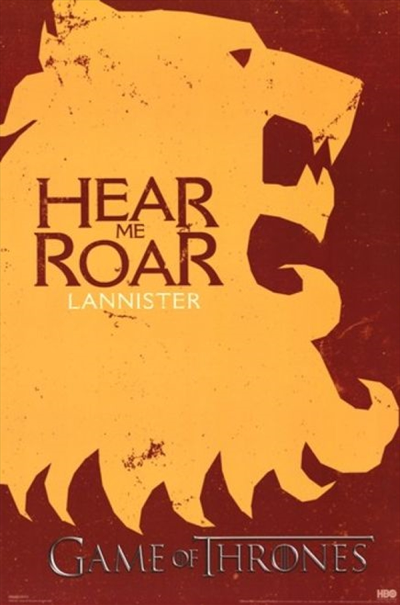 Game Of Thrones - Lannister Sigils | Merchandise