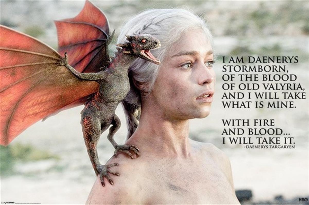 Game of Thrones - Daenerys   Merchandise