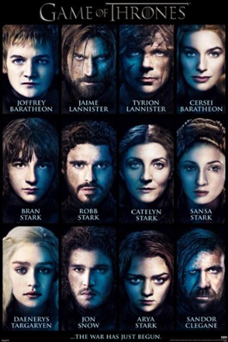 Game Of Thrones - Characters | Merchandise