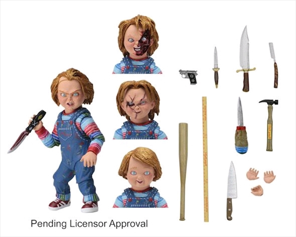 """Child's Play - Chucky 7"""" Scale Ultimate Action Figure 