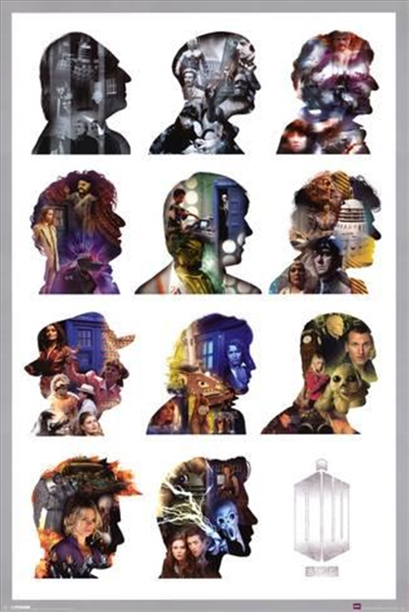 Doctor Who - Silhouette | Merchandise