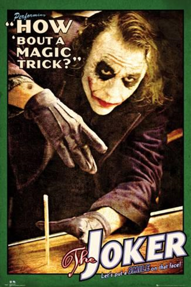 The Dark Knight - Magic Trick | Merchandise