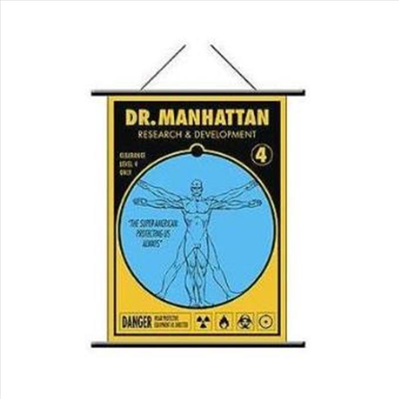 Watchmen - Wall Scroll Dr Manhattan Pop Art   Merchandise