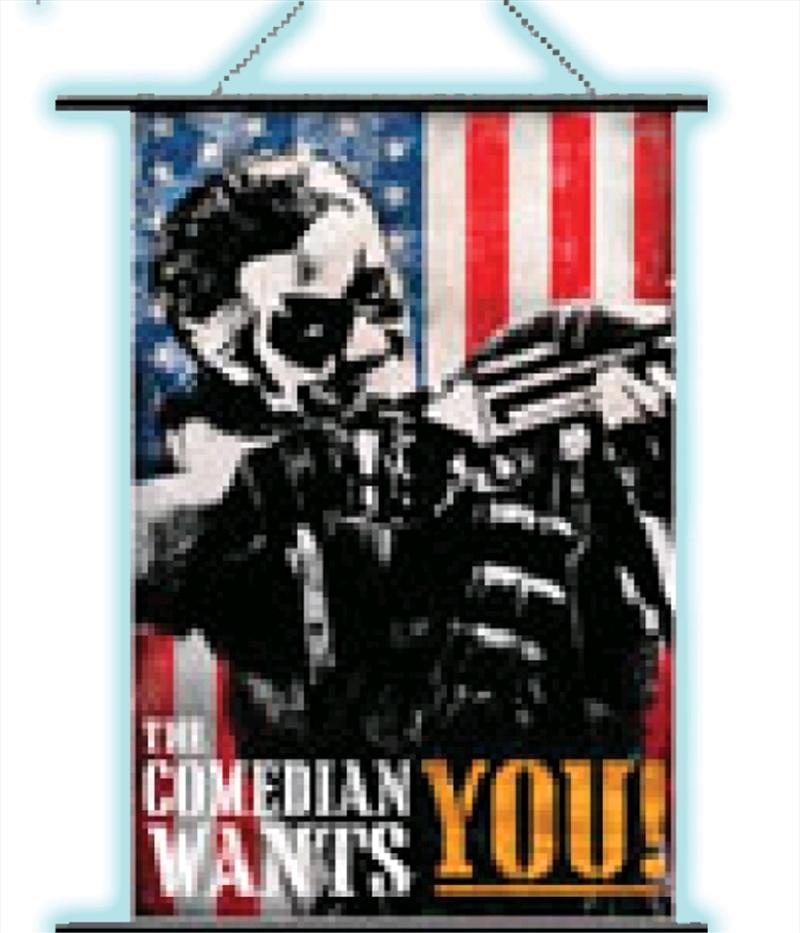 Watchmen - Wall Scroll Comedian Pop Art | Merchandise