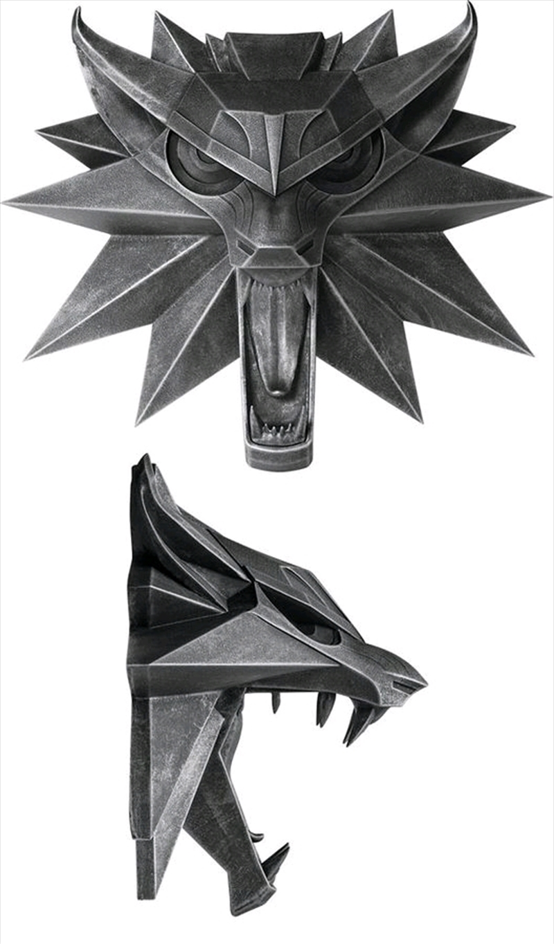 The Witcher 3: Wild Hunt - Wolf Wall Sculpture | Collectable