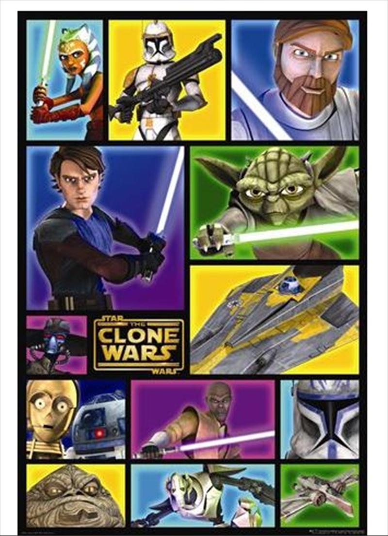 Star Wars - Clone Wars Frames | Merchandise