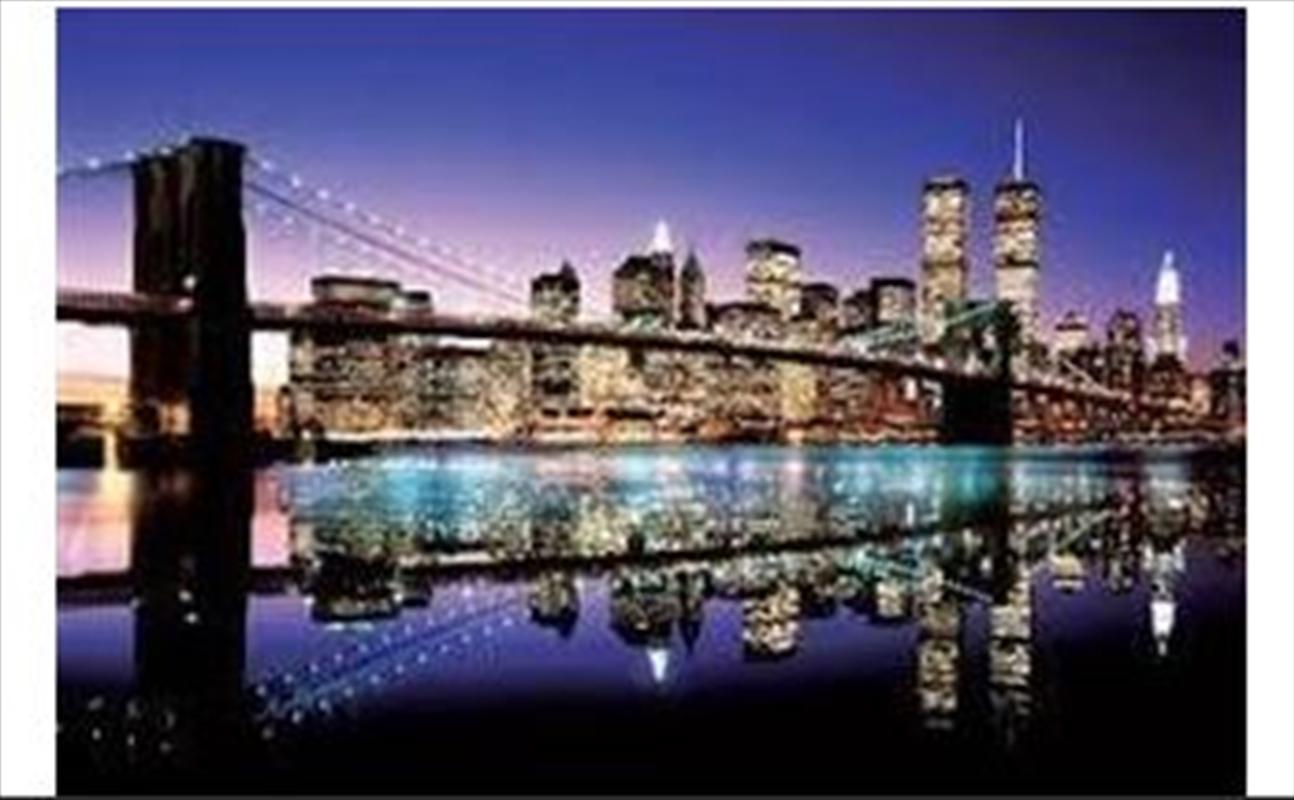 Brooklyn Bridge Colour Poster | Merchandise